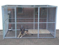 Steel Panel Kennel - 9ft x 9ft
