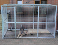 Steel Panel Kennel - 3ft x 6ft