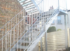 Steel Staircases- 1/2 Storey Domestic Use