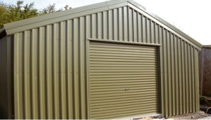 6.00 x 8.00m Steel Workshop or Kit Store