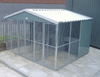 Three Bay Fully Galvanised Outdoor Kennel - 10ft x 12ft