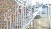 Steel Staircases- Custom Domestic
