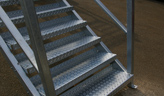 Steel Staircases-1 Storey  Commercial Use
