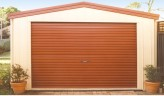 3.35 x 5.00m Steel Single Garage