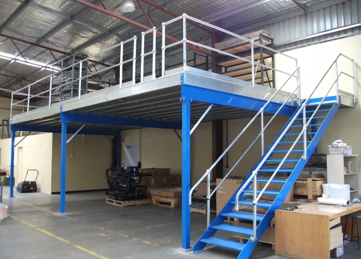 Mezzanine flooring bonds garages and sheds for How to build a mezzanine floor in your home