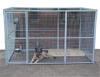 Roofless Steel Panel Kennels